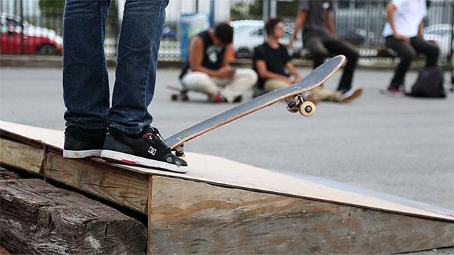 PHOTO:Skateboarder at Grand Central Skatepark in Miami, FL. (July 12, 2013)