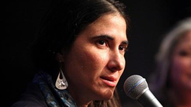 PHOTO: Cuban Blogger Yoani Sánchez Makes First U.S. Appearance at Columbia Graduate School of Journalism in New York City on March 14, 2013.