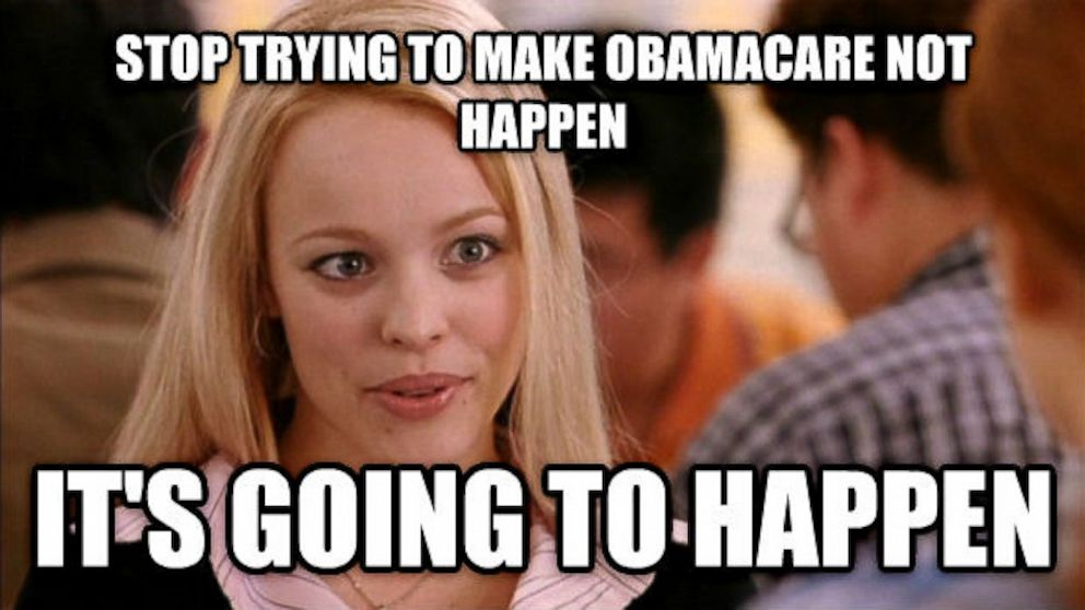PHOTO: 'Mean Girls' Obamacare meme