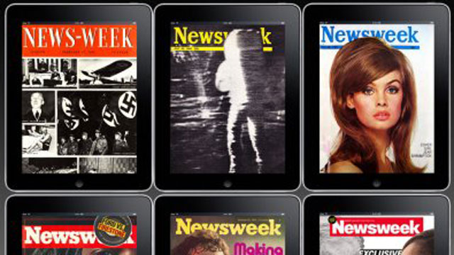 PHOTO: After 80 years in print, the newsmagazine adopts an all-digital format.