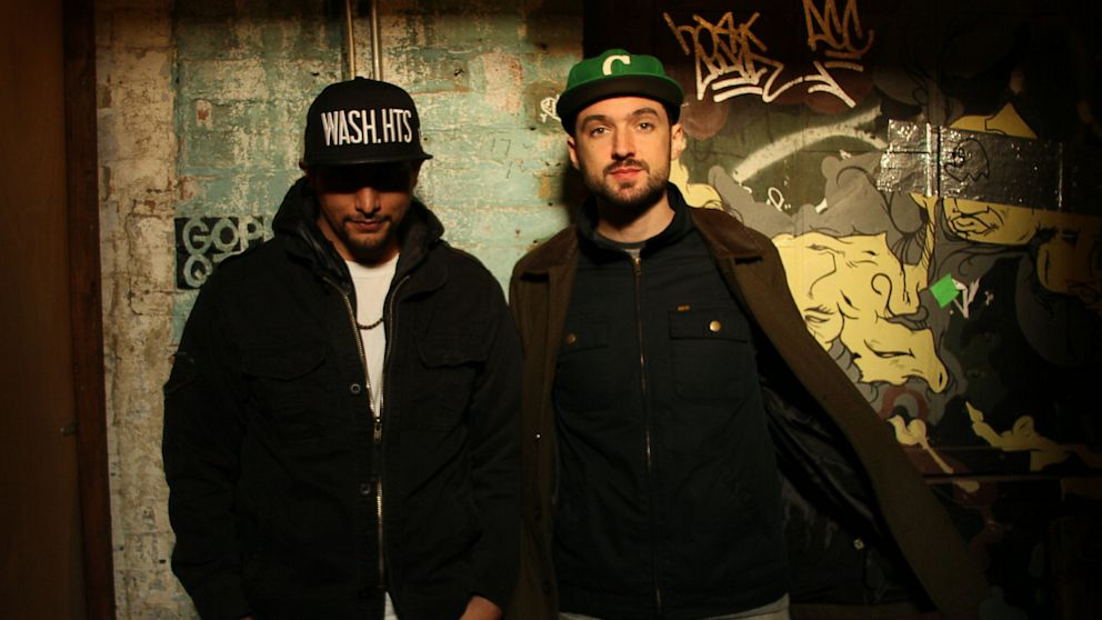 PHOTO: Geko Jones and Uproot Andy, the DJ duo behind Que Bajo records.