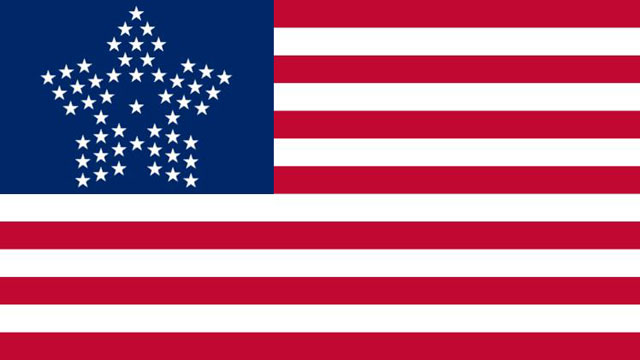 American Flag 51 Stars Circle The new us flag if puertoAmerican Flag 51 Stars
