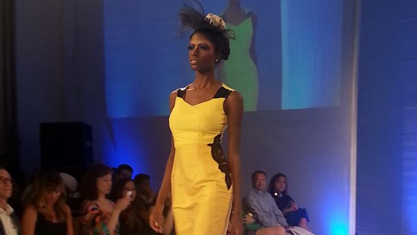 PHOTO: Sho Sho Esquiro - Fashion Week - Yellow Dress