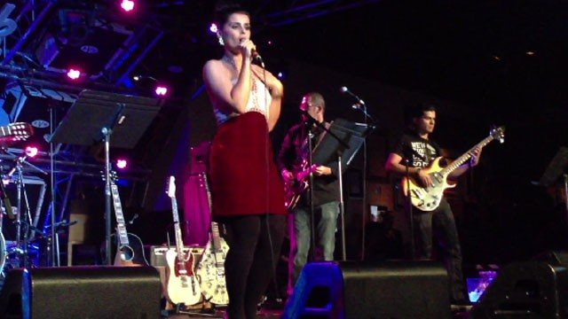 Nelly Furtado sings