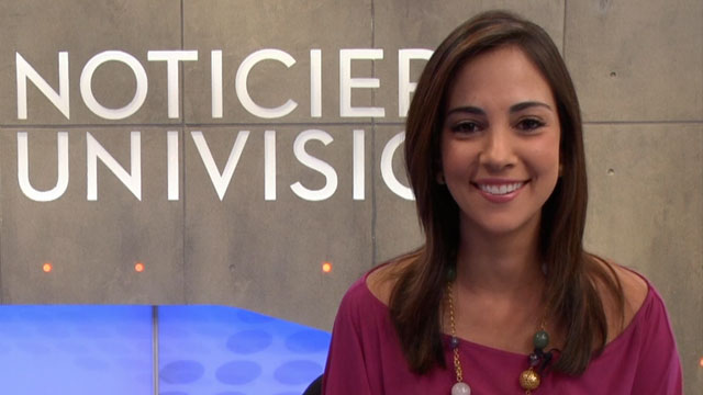 PHOTO:Chiquinquira Delgado is a host for Univisions Mira Quién Baila and Despierta America.