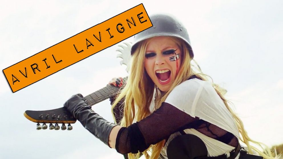 "Avril Lavignes new music video for ""Rock N Roll"" is pretty out there."