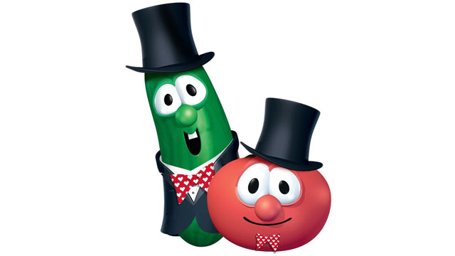 PHOTO: Christian cartoon VeggieTales.