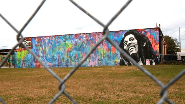 PHOTO: Street art in Miami's Wynwood district.