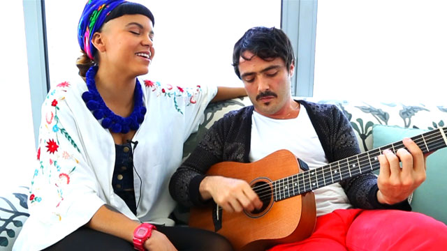 PHOTO: Bomba Estereo performing at SoHo House in Miami, Fl.