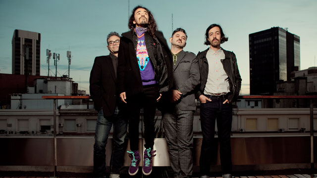 PHOTO: Mexican band Cafe Tacvba
