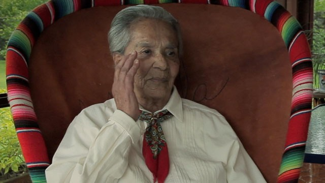 PHOTO:&nbsp;Chavela Vargas in the documentary 'Hecho En Mexico'.