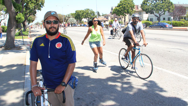 Video: L.A.s CicLAvia Began In Bogota