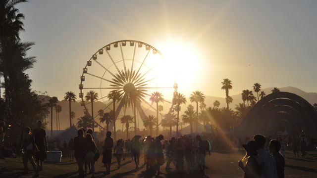 PHOTO: Coachella music festival in Indio, California takes place in April every year.