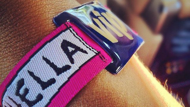 PHOTO: A Coachella VIP wristband.