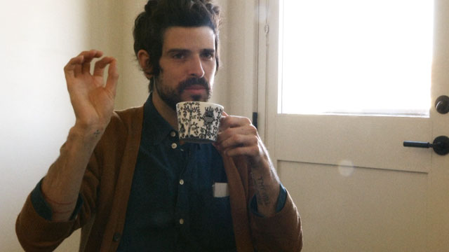 PHOTO: Devendra Banhart at the Hotel Saint Cecilia in Austin, Texas for SXSW 2013.