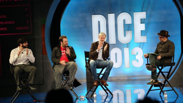 PHOTO: D.I.C.E. 2013 panel on mobile games.