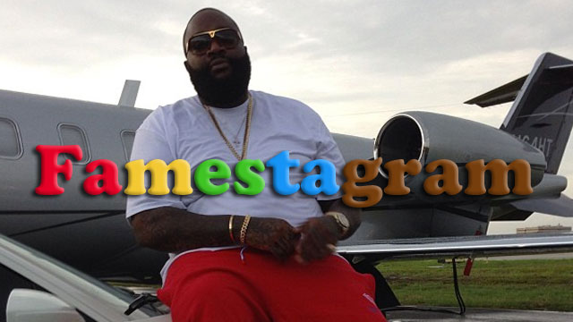 PHOTO:A post from Rick Ross Instagram