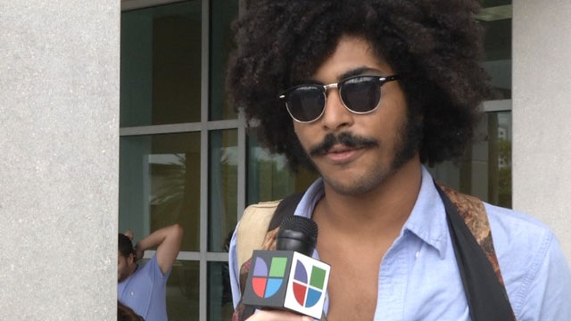 PHOTO: Florida International University Students, Like Keysel Belaez, Speak Out About The Upcoming 2012 Elections.