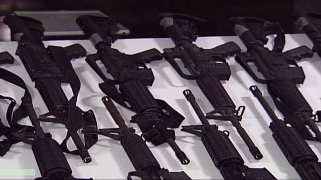 PHOTO: Univision News obtained the list of Fast and Furious weapons and a list containing almost 60,000 recovered firearms compiled by Mexico's Secretaría de la Defensa Nacional (SEDENA)