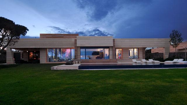 Cristiano Ronaldo's home designed by Joaquín Torres