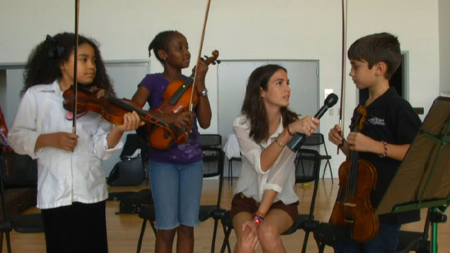PHOTO: Kids from the Greater Miami Youth Symphony tell us what they listen to when theyre not perfecting Accolays Violin Concerto.
