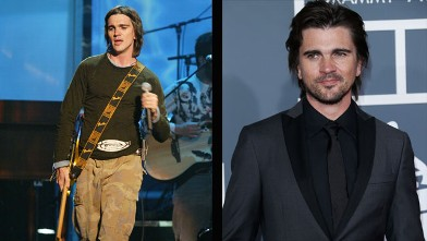 PHOTO: Juanes in 2003 and 2013.