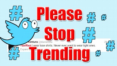 PHOTO: Please Stop Trending: #SelfFact