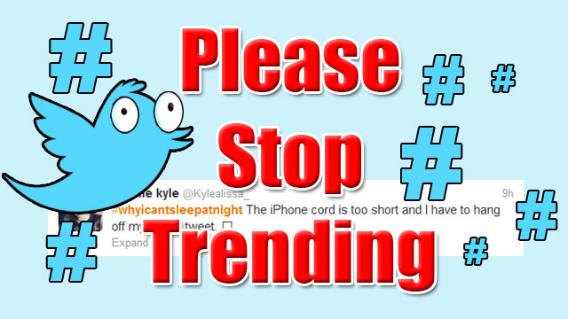 "PHOTO: This weeks ""Please Stop Trending"" hashtag is #WhyICantSleepAtNight"