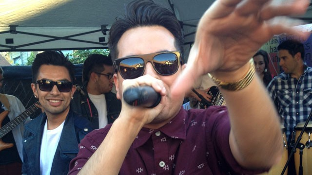 PHOTO: Raul & Mexia at an East LA yard party