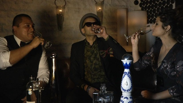 PHOTO: Salud! We went tequila tasting with Sensato in Vegas during Latin Grammy week.