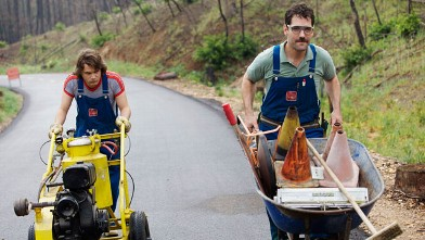 PHOTO:Emile Hirsch and Paul Rudd in 'Prince Avalanche', premiering at Sundance 2013