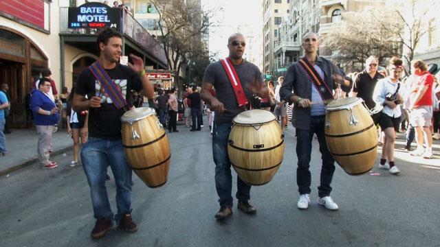 "PHOTO:Uruguayan musician Daniel ""Tatita"" Marquez tries to get his countrys music heard around the world."