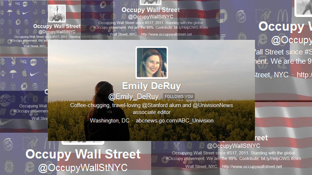 PHOTO: Reporter Emily Deruy's most notable Twitter experience.