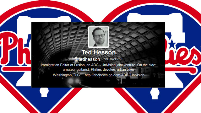 PHOTO: Reporter Ted Hesson's most notable Twitter experience.