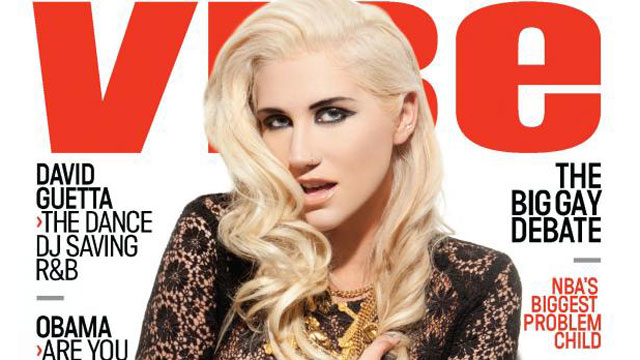 PHOTO: Ke$ha makes history by covering the hip-hop publications October/November 2012 issue.