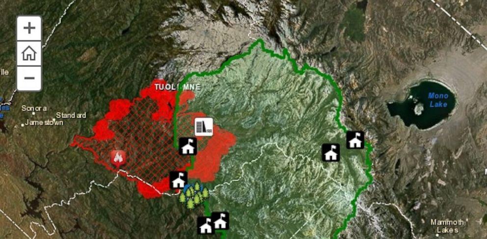 PHOTO: Interactive map created by ESRI, a Fusion Investigative partner.