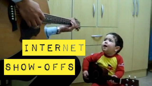 PHOTO: Internet Show-Offs: Toddlers singing on YouTube