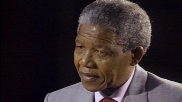 VIDEO: Nelson Mandela Interview