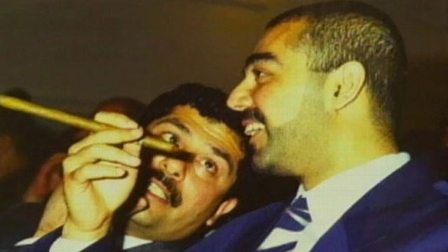 VIDEO: Uday and Qusay Hussein die in a military shootout in Iraq.