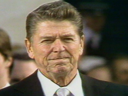 ronald reagan on dollar bill republican congressman s bill video ronald reagan inauguration
