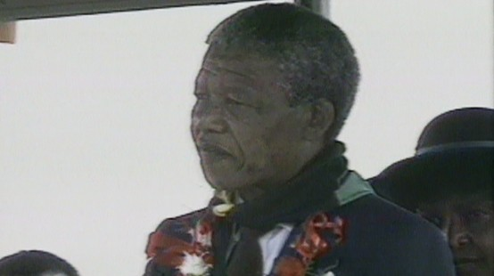VIDEO: Nelson Mandela Visits Zambia