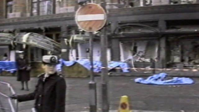 VIDEO: Harrods Department Store Bombing