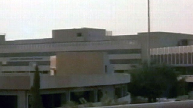VIDEO: U.S. troops take control of the Saddam International Airport in Baghdad.