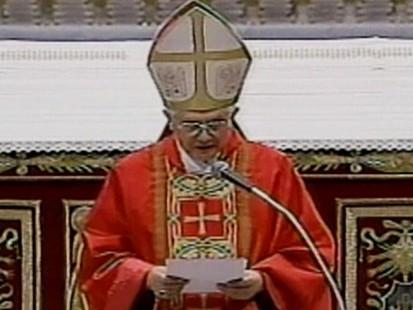 VIDEO: Pope Benedict