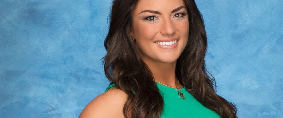 "PHOTO: Jillian Anderson on ""The Bachelor"" Season 19."