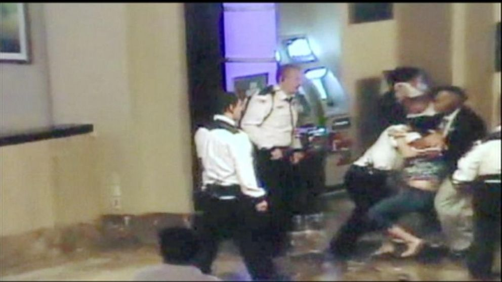 Caught on Tape: Casino Security Forcefully Takes Down Family