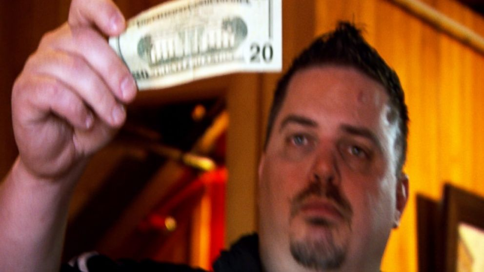 PHOTO: Frank Bourassa calls himself the greatest currency co