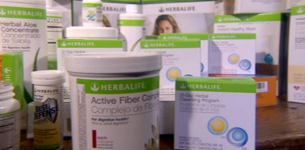 PHOTO: ABC News investigates diet and nutrition sales brand Herbalife.