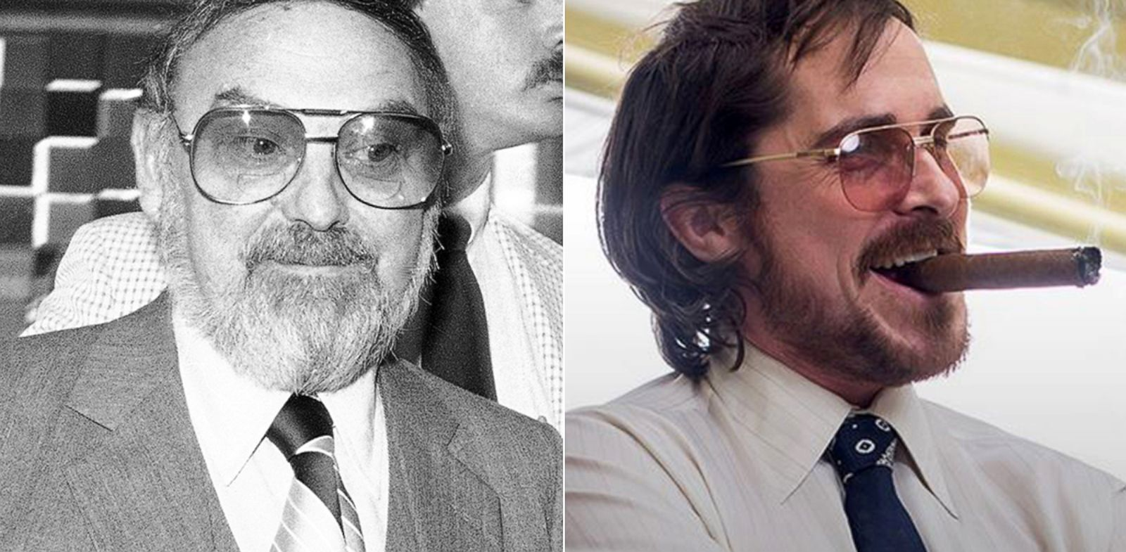 "PHOTO: In Oscar-nominated ""American Hustle,"" Christian Bale plays a character based on real-life Mel Weinberg, a central figure in the FBIs Abscam operation."