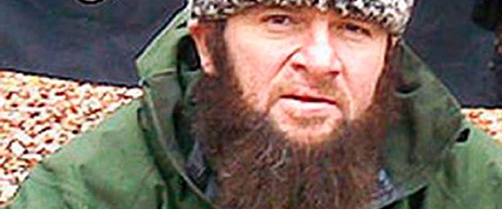 PHOTO: A screenshot from the Kavkazcenter.com website taken Dec. 2, 2009 shows an undated photo of a man identified as Chechen separatist leader Doku Umarov.